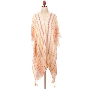 Free People Tribal One Size Ponco
